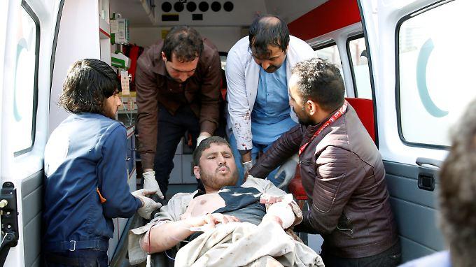Mindestens 140 Menschen wurden bei dem Anschlag verletzt.