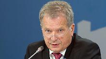 Absolute Mehrheit für Niinistö: Die Finnen behalten ihren Präsidenten