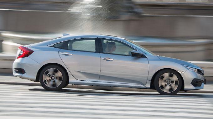 Der neue Honda Civic ist ab März 2018 mit Dieselmotor zu haben.