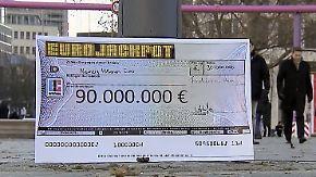 90 Millionen im Eurojackpot: Deutschland verfällt ins Lottofieber