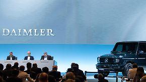 Vorsichtiger Optimismus für 2018: Abgastests überschatten Daimlers Rekordzahlen