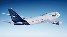 Umlackierung dauert Jahre: Lufthansa zeigt sich im neuen Design