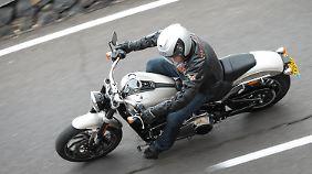 Auch bei der Bremsverzögerung weiß die Sport Glide zu überzeugen.