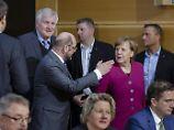 Schwierige Punkte noch offen: Union und SPD treffen sich zum Showdown