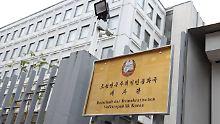 Aktivitäten in der Botschaft: Nordkorea soll Waffen in Berlin beschaffen