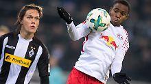 Ademola Lookman fügt sich gut bei RB Leipzig ein - mit seinem ersten Siegtor.