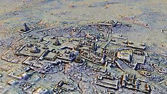 Spektakulärer Fund im Dschungel: Forscher entdecken in Guatemala riesige Maya-Stätte