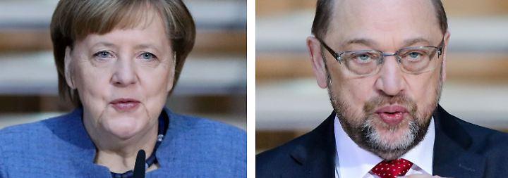 Eine Frage der Glaubwürdigkeit: Gezerre um GroKo schadet Schulz und Merkel