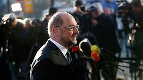 Martin Schulz könnte wegen seiner Ambitionen für eine Ablehnung des Koalitionsvertrags durch die SPD-Mitglieder verantwortlich gemacht werden.