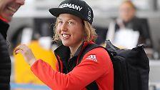 """Große Favoritin auf Gold ist die siebenfache Weltmeisterin Laura Dahlmeier. Die 24-Jährige sagt der """"Sport Bild"""": """"Ich möchte mit einer Medaille heimfahren, am liebsten einer goldenen. Ich fühle mit topfit, die Chancen sind da."""""""