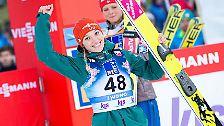 Die besten Chancen bei den Frauen hat diesmal Katharina Althaus. Die 21-Jährige stand bei ihren acht Weltcupauftritten in dieser Saison immer auf dem Treppchen.