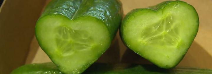 Braune Tomaten, Gurken in Herzform: Neugezüchtetes Gemüse wird immer extravaganter