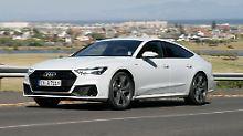 Novum beim Audi A7 Sportback: Quattro gilt jetzt auch fürs Lenken
