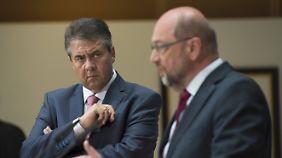 Aufwind für Anti-GroKo-Kampagne?: Gabriel rechnet mit SPD-Führung ab