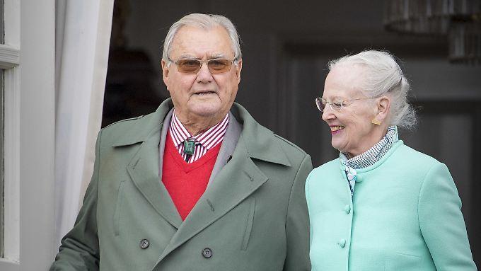 Prinz Henrik und Königin Margrethe II. von Dänemark.