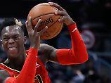 Wieder alleiniges Schlusslicht: Schröder und Atlanta kriseln durch die NBA