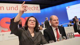 Erst Schulz, dann Nahles, so ist die aktuelle Lage.