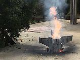 Mit Rückendeckung der USA: Israel bombardiert Syrien - wegen Iran