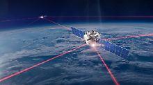 Fünfzigmal mehr Kapazität: Laser-Netzwerke sollen Datenproblem lösen
