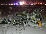 Flugzeugabsturz in Russland: Airline dementiert Hubschrauber-Kollision