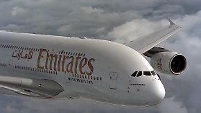 Aufatmen bei Airbus: Emirates sichert mit Großbestellung die Produktion des A380