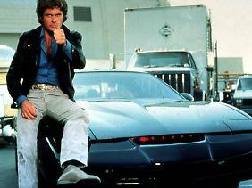 """In den 80er Jahren war """"Knight Rider"""" Kult."""