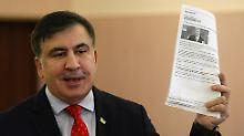 Die Ukraine hat den ehemaligen georgischen Staatschef Michail Saakaschwili nach Polen abgeschoben.