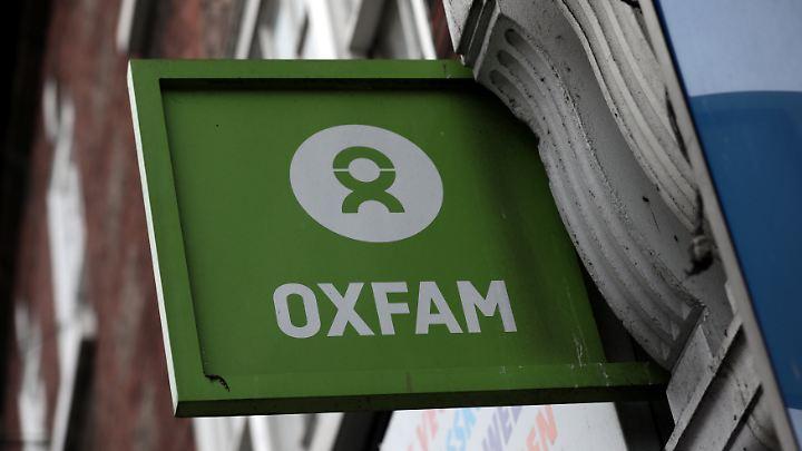 Die Hilfsorganisation Oxfam gerät immer mehr unter Druck.