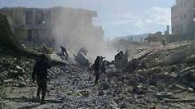 Falls Assad Giftgas einsetzt: Macron droht mit Angriffen in Syrien