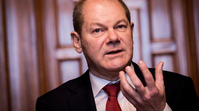 """Scholz: """"Unser ehrgeiziges Ziel ist, dass wir bei künftigen Bundestagswahlen stärkste Partei werden können."""""""