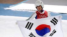 Aileen Frisch ist eine von insgesamt 19 Sportlern, die für die Olympischen Spiele in Südkorea eingebürgert wurden.