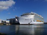 """Symphony of the Seas"": Weltgrößtes Kreuzfahrtschiff ist bald fertig"