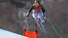 """""""Einfach ein Hammer, der Typ"""": Ski-""""Komet"""" Dreßen hängt Olympiasieger ab"""