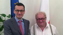 """Tenenbom befragt Polens Premier: """"Wo soll Gott Sie abwerfen?"""""""