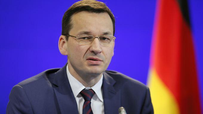 Ministerpräsident Morawiecki plant eine Geschichtspolitik, die Polens Ruf schützen soll.