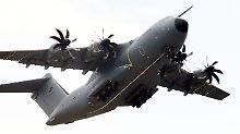 Letztes Flugzeug erst 2026: A400M-Auslieferung verzögert sich um Jahre