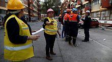 """""""Alarm, Panik, Angst"""": Schweres Erdbeben in Mexikos Süden"""