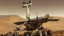 "Robuster Mars-Rover: ""Opportunity"" forscht seit 5000 Mars-Tagen"
