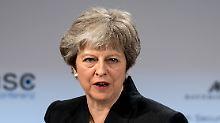 """""""Beiderseitiges Interesse"""": May strebt Sicherheitsabkommen mit EU an"""