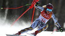 Olympische Super-G-Sensation: Ester Ledecká - falsche Bretter, echtes Gold