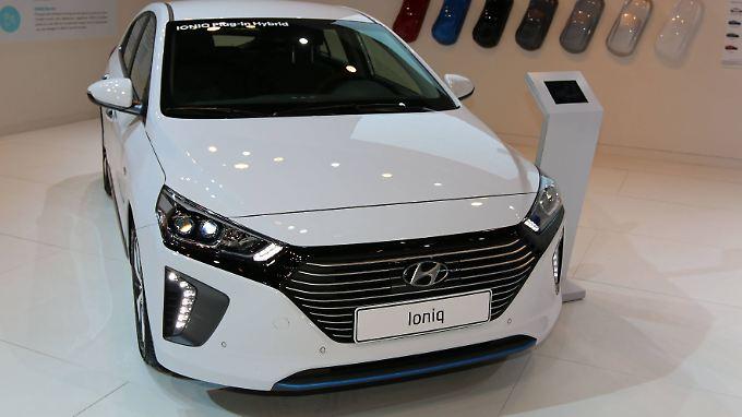 Lieferzeiten von bis zu einem Jahr sind beim Hyundai Ioniq keine Seltenheit.