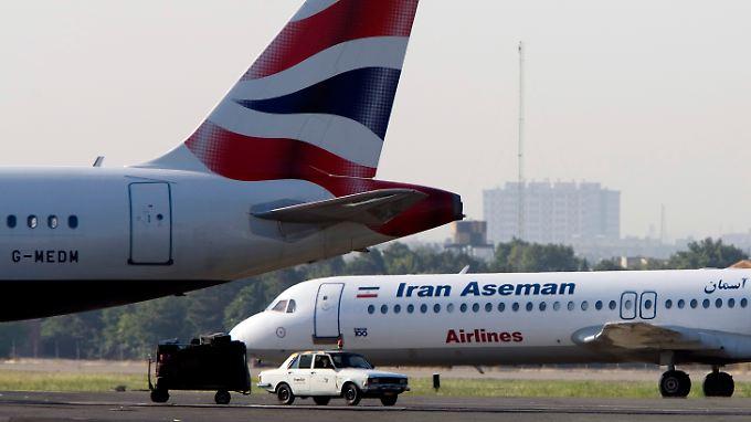 Die Maschine der Fluggesellschaft Aseman verschwand von den Radarschirmen.