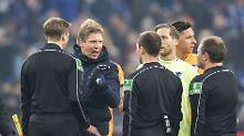 Der Sport-Tag: Nagelsmann wirft Schiedsrichtern Beleidigung vor