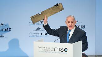 Nazi-Vergleich und Kanonenpulver: Netanjahu hält brachiale Rede