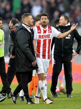 Pizarros Freude über sein Tor hielt nur kurz.