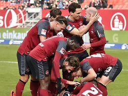 Dresdener atmen durch: 1. FC Nürnberg erklimmt die Tabellenspitze