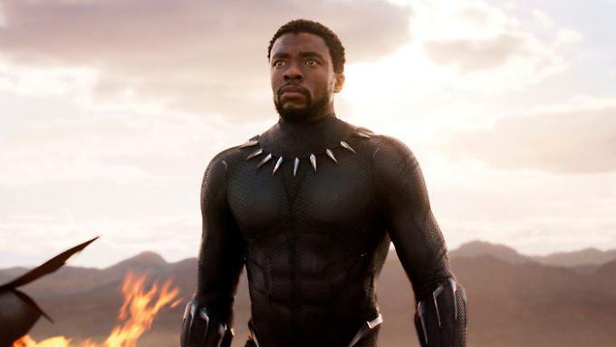 "In ""Avengers"" war der ""Black Panther"" noch Teil des Ensembles."