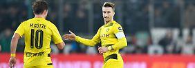 Marco Reus versetzt seinem Ex-Klub Gladbach einen Stich.