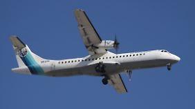 Vermisst wird ein Flugzeug vom Typ ATR-72 der Iran Aseman Airlines - dieses Foto zeigt aber nicht die verschwundene Maschine.