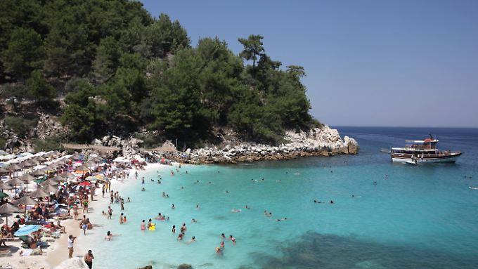 Auf Thassos geht es etwas beschaulicher zu als auf den anderen griechischen Inseln.